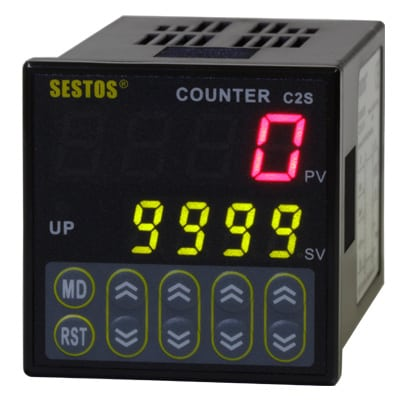 C2S-R-220 - Digital Counter with 1 Relay Output 220v - 4 Digit